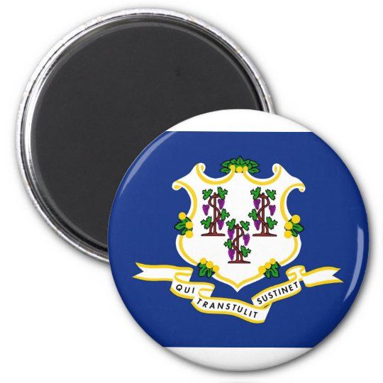 Connecticut State Flag Magnet