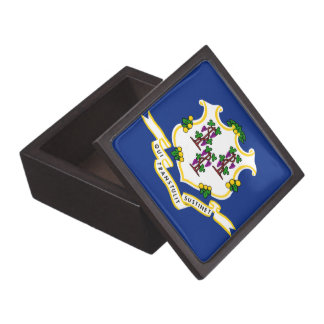 Connecticut State Flag Premium Gift Boxes