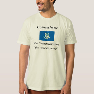 Connecticut State Flag T Shirt