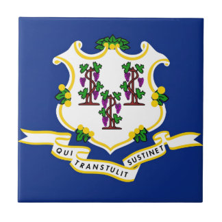 Connecticut State Flag Tile