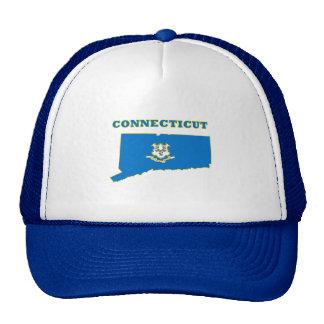 Connecticut State Flag Trucker Hat