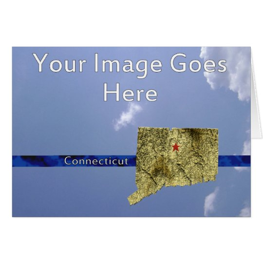 Connecticut State Greeting Card