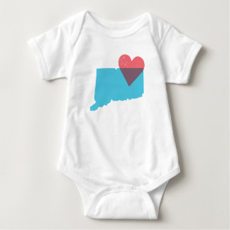 Connecticut State Love Baby Shirt