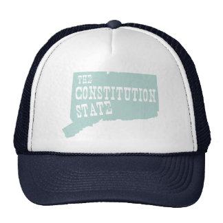 Connecticut State Motto Slogan Trucker Hat