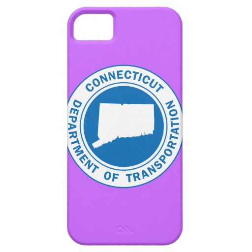 connecticut state seal dept transportation iPhone SE/5/5s case