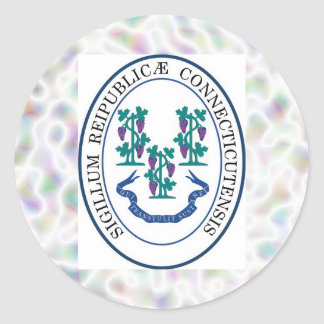 Connecticut State Seal Stickers