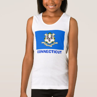 CONNECTICUT STATE SEAL TANK TOP