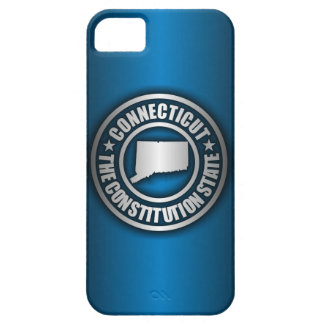 """Connecticut Steel"" iPhone 5 Cases (Blue)"
