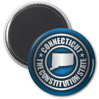 """Connecticut Steel"" Magnets (Blue)"