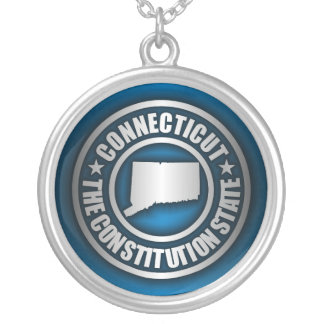 """Connecticut Steel"" Necklace (Blue)"