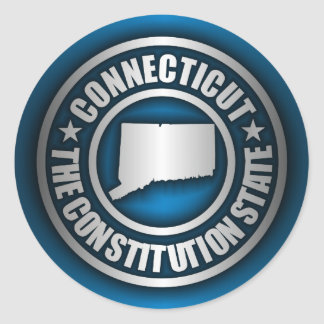 """Connecticut Steel"" Stickers (Blue)"