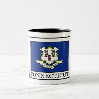 Connecticut Taza De Café De Dos Colores