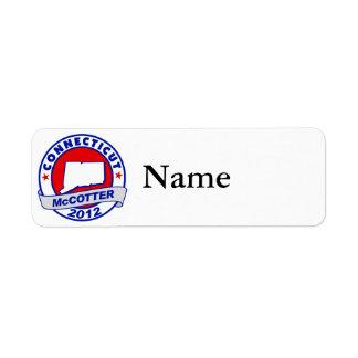 Connecticut Thad McCotter Label