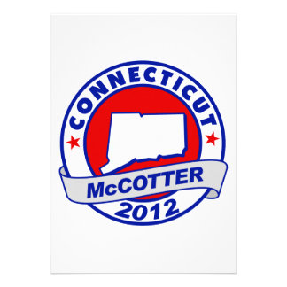 Connecticut Thad McCotter Personalized Invite