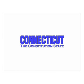 Connecticut, The Constitution State Postcard