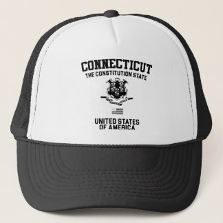 Connecticut The Constitution State Trucker Hat