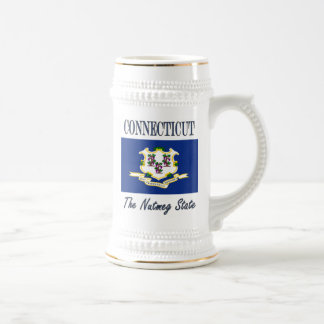 Connecticut The Nutmeg State Beer Stein