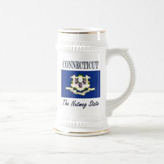 Connecticut The Nutmeg State Beer Stein Coffee Mug