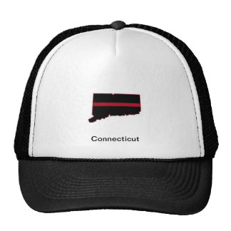 Connecticut Thin Red Line Trucker Hat