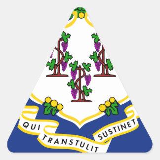 Connecticut Triangle Sticker