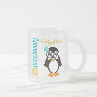 Connecticut USA Penguin Coffee Mug