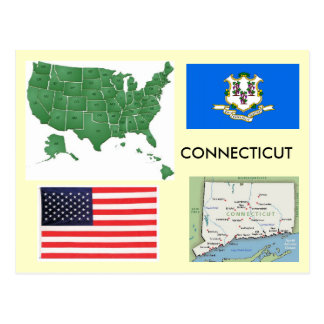 Connecticut, USA Postcard