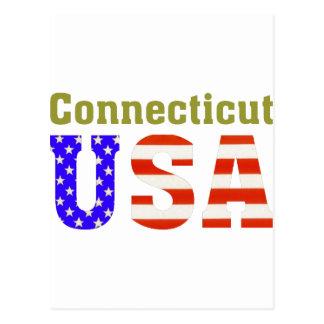 Connecticut USA! Postcard