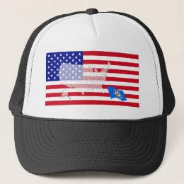Connecticut, USA Trucker Hat