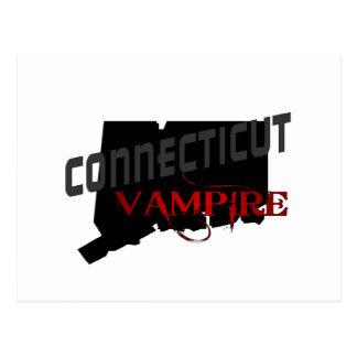 CONNECTICUT vampire Postcard
