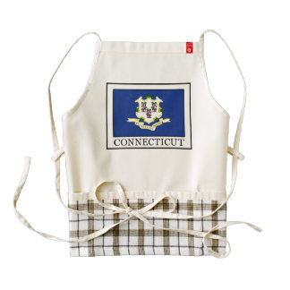 Connecticut Zazzle HEART Apron