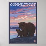 ConnecticutBear y Cub Posters
