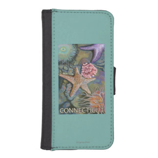 ConnecticutTidepool Scene Phone Wallet Cases