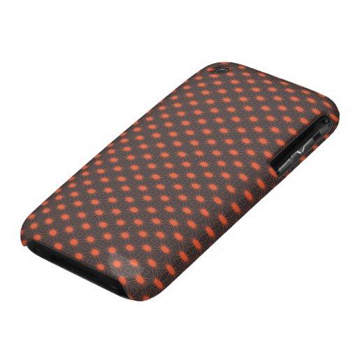 ConnectingSuns Brown/Orange iPhone 3 Cover