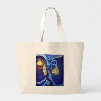 connections canvas bag
