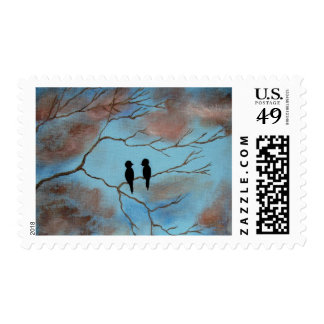Connections Birds In Tree Postage Stamps