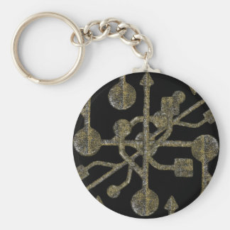 Connectivity Concept Pattern Keychain