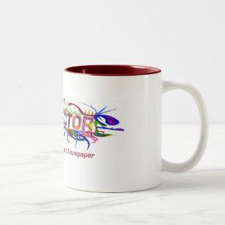 CONNECTOR MUG! Two-Tone COFFEE MUG