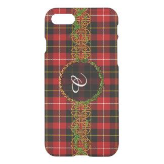 Connel Tartan And Monogram iPhone 7 Case