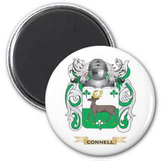 Connell Coat of Arms 2 Inch Round Magnet