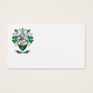 Connell Coat of Arms Business Card