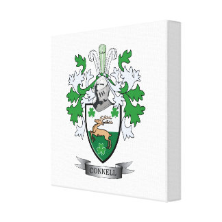 Connell Coat of Arms Canvas Print