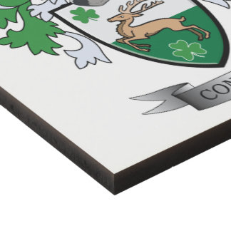 Connell Coat of Arms Panel Wall Art