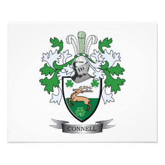 Connell Coat of Arms Photo Print