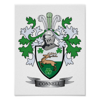 Connell Coat of Arms Poster