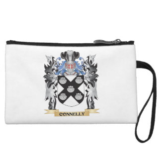Connelly Coat of Arms - Family Crest Wristlet Purses