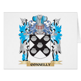 Connelly Coat of Arms - Family Crest Large Greeting Card