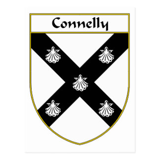 Connelly Coat of Arms/Family Crest Postcard