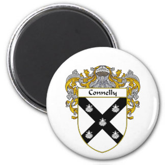Connelly Coat of Arms (Mantled) Fridge Magnets