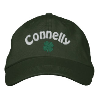 Connelly - Four Leaf Clover - Customized Embroidered Baseball Hat