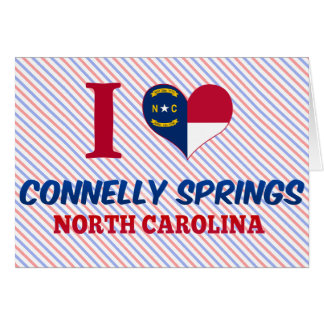 Connelly Springs, North Carolina Greeting Card